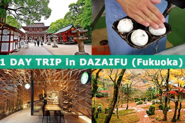 Dazaifu Tourism Pay homage to Tenmangu Shrine Taste grilled mochi
