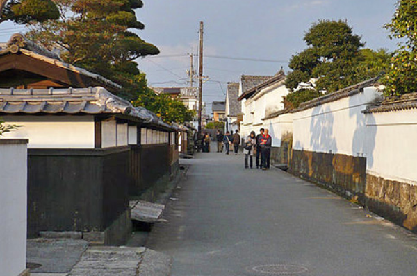 Former samurai town of Hagi Castle Town