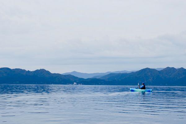 Review of Lake Tazawa, cycling, boating