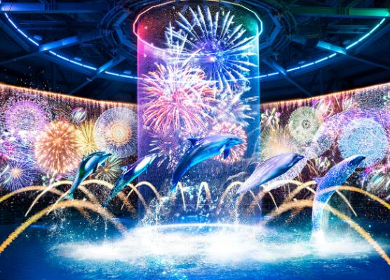 NAKED HANABI AQUARIUM, Fireworks Under the Sea
